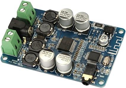 TDA7492P AUX 50W*2 Wireless Bluetooth 4.0 Audio Receiver Digital Amplifier Board