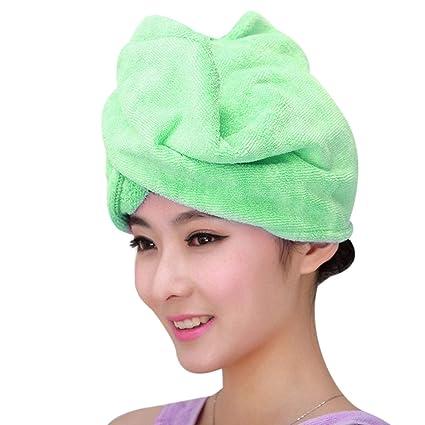 SimpleShow Store Toalla para el cabello Productos de baño Gorros ...
