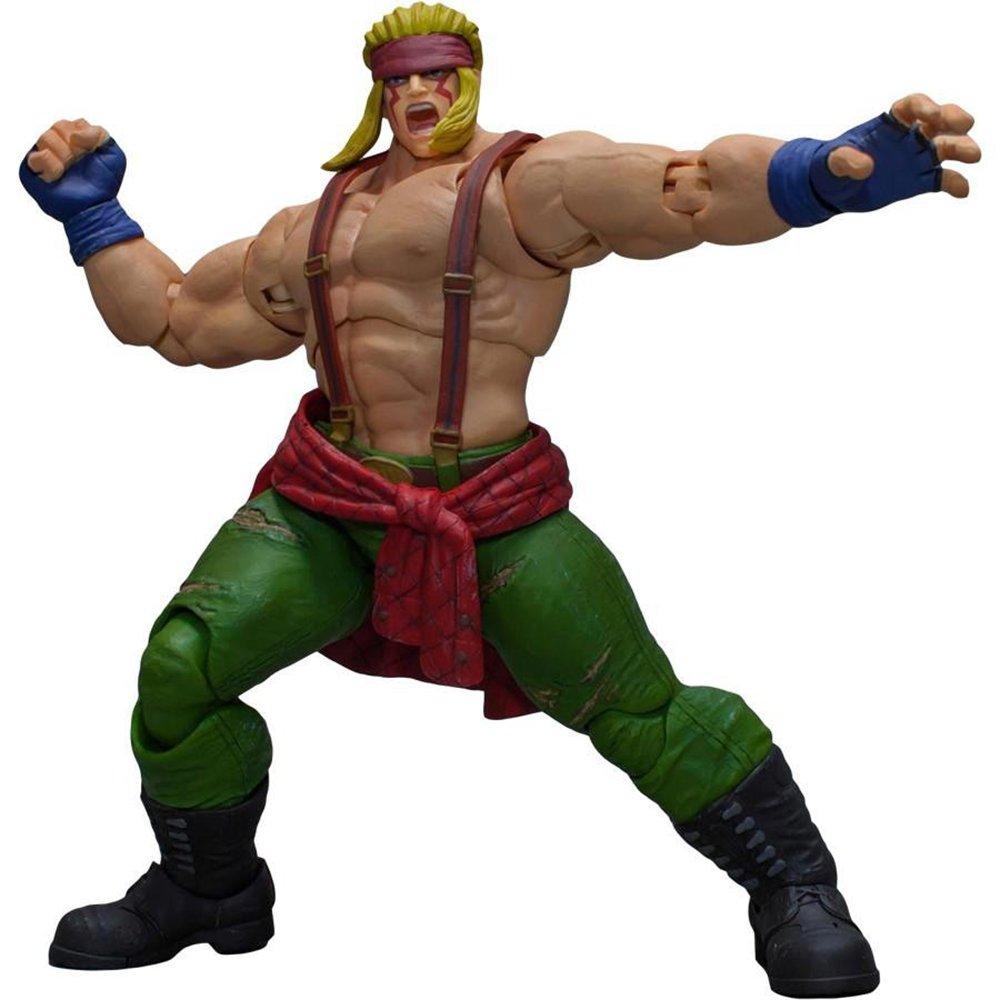 más vendido Storm Collectibles Street Fighter Fighter Fighter V Arcade Edition New Rising Star Alex 1/12 Scale Figura De Acción  los clientes primero