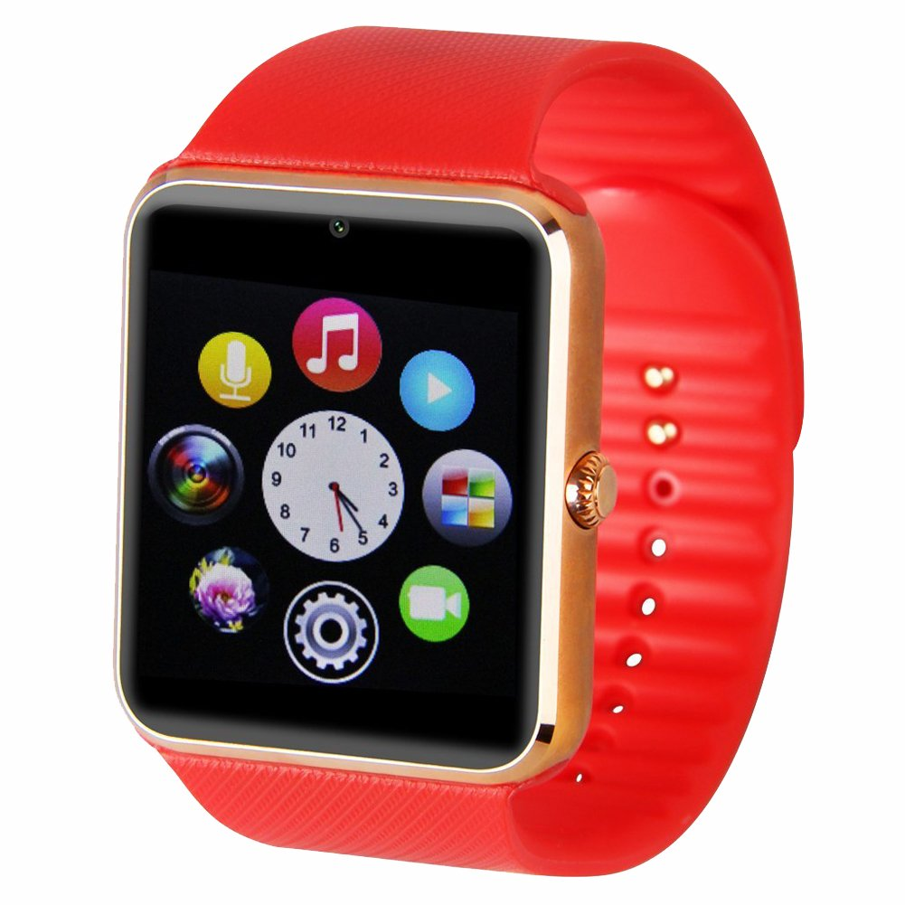 TOOGOO GT08 Bluetooth Smart Watch for Samsung iphone: Amazon