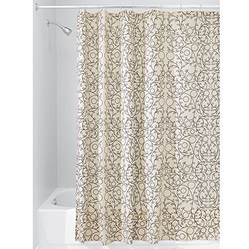 iDesign Twigz Fabric Shower Curtain, 72