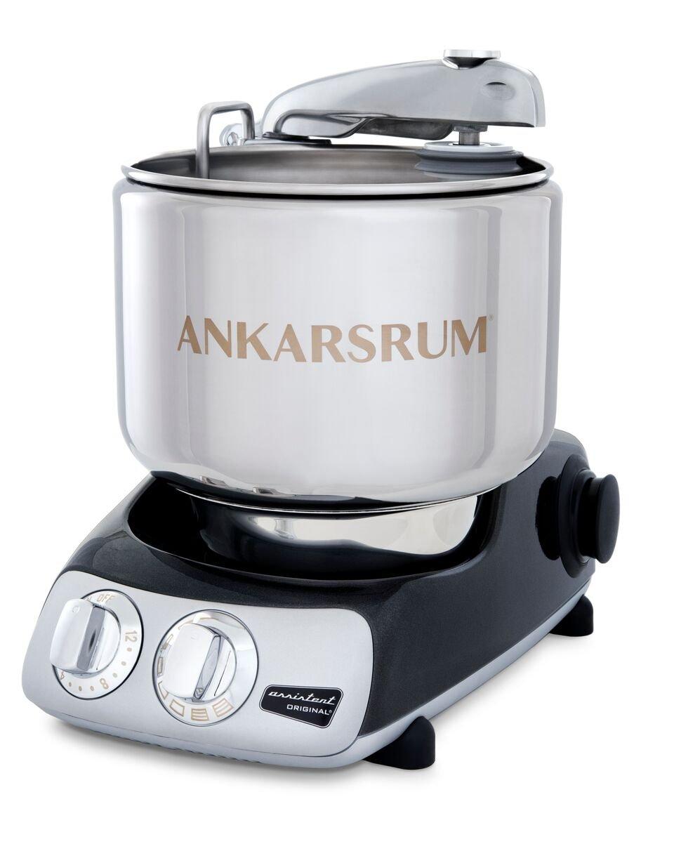 Ankarsrum Assistent Original AKM 6230 Electric Stand Mixer, 7.4 Quart (Black Diamond)