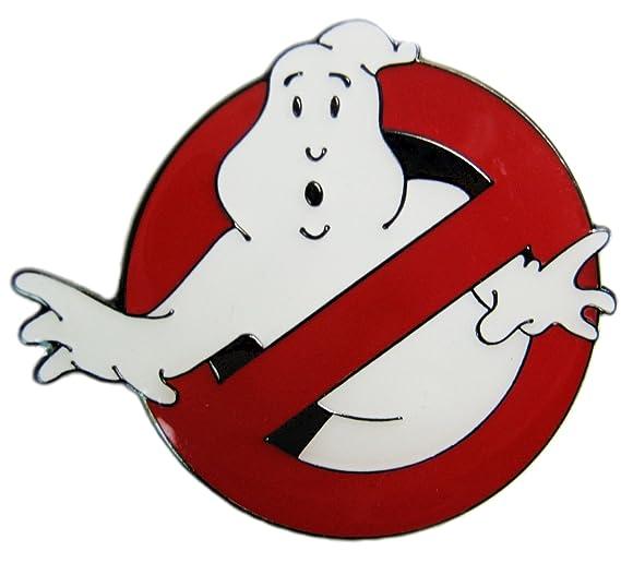 Ghostbusters Movie Logo 'No Ghosts' Enamel Pin