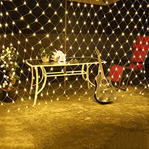 TTYY Waterproof String Net Fairy Lights 8M10M 2600 Led 8 Modes with Connectable Tail Plug For Indoor Wedding Christmas Party , warm white