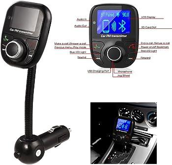 Ecandy Bluetooth Wireless Car MP3
