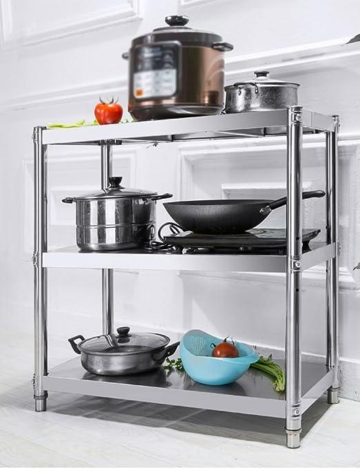 Estantes y soportes para ollas y sartenes HWF Estantes de Cocina ...