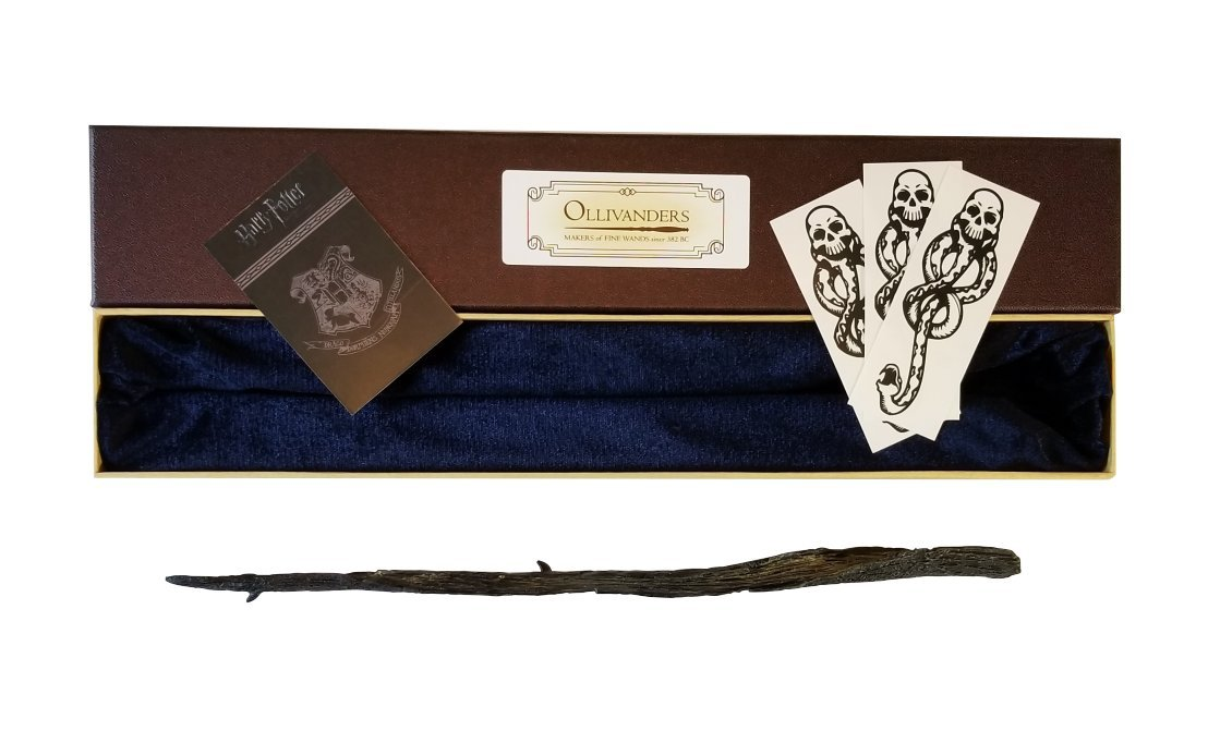 Wizarding Apothecary Harry Potter Gellert Grindelwald Wand in Ollivander Box with Dark Mark by Wizarding Apothecary