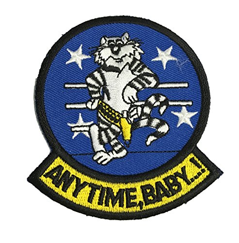 F-14 Tomcat 'Anytime Baby' Patch ()