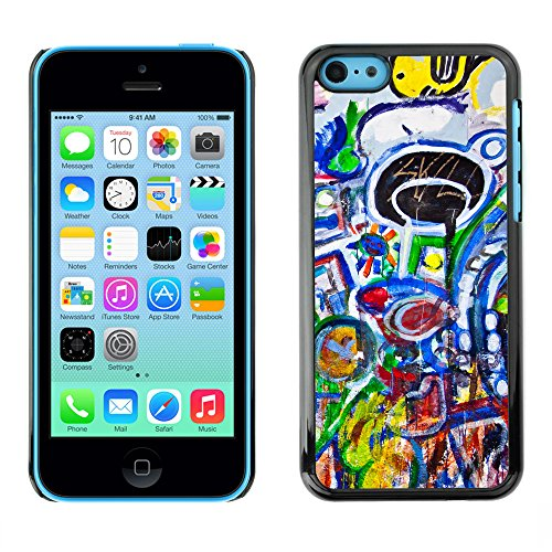 Premio Sottile Slim Cassa Custodia Case Cover Shell // V00002309 Graffiti // Apple iPhone 5C