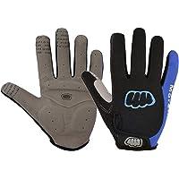Women Men Winter Cycling Gloves Full Finger Thermal Fleece Touchscreen Bicycle Gloves Anti Slip Gel Pad Motorcycle MTB…