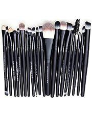 Leisial Professional 20 pièces Maquillage Set de Brosse Maquillage Kit de Toilette Set de Brosse de Maquillage Marque de Laine Pencel Maleta de Maquiagem …
