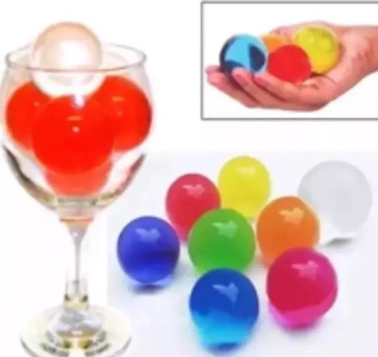 50 Large Orbeez Magic Water Balls Beads UK SELLER FREE DELIVERY JUMBO Ball kikan.co.uk