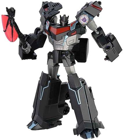 amazon com transformers takara tomy adventure tav13 nemesis prime