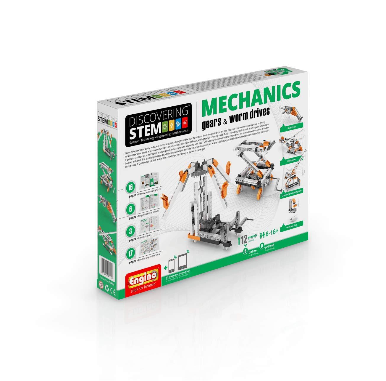Engino STEM05.2 Konstruktionbausatz, Mehrfarbig