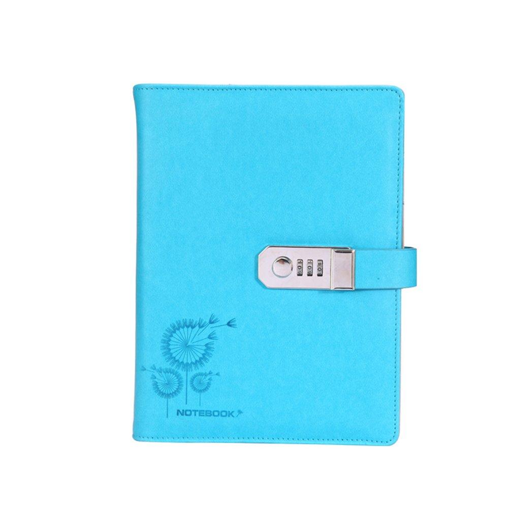 NUOLUX Creative Diary Notebook Journal Notebook Planner avec Mot de passe pour Etudiant