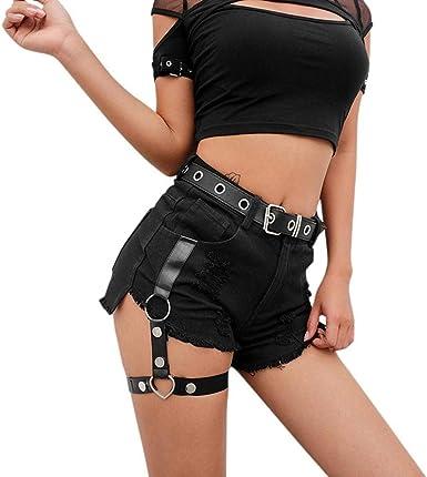 Pantalon Vaquero Corto Mujer Logobeing Mujer Pantalones Cortos Vaqueros De Cintura Alta Vestir Fiesta Shorts Mujer Vaqueros 1229 S Negro Amazon Es Ropa Y Accesorios