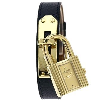 online store 4496a 5cfa4 Amazon | [エルメス]ケリーウォッチ 腕時計 GP/革 レディース ...