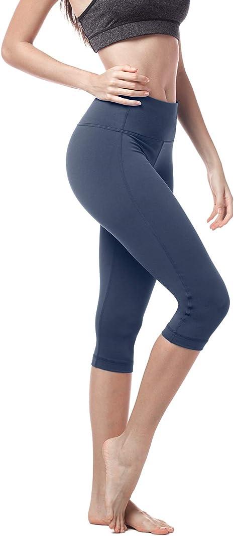 Athletic Capri Colorful Print Sportswear Spandex Womens High Waist Capris Leggings Sienna Rust Activewear Yoga Capris Ladies
