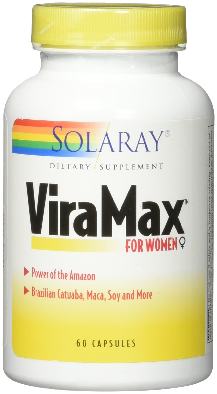 Solaray Viramax VCapsules for Women, 60 Count