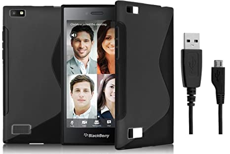S Line Grip Back Case Cover for BlackBerry Z20: Amazon in