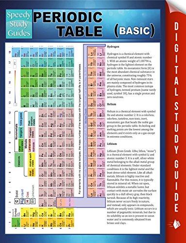 Periodic table basic speedy study guide speedy publishing periodic table basic speedy study guide by publishing speedy urtaz Choice Image