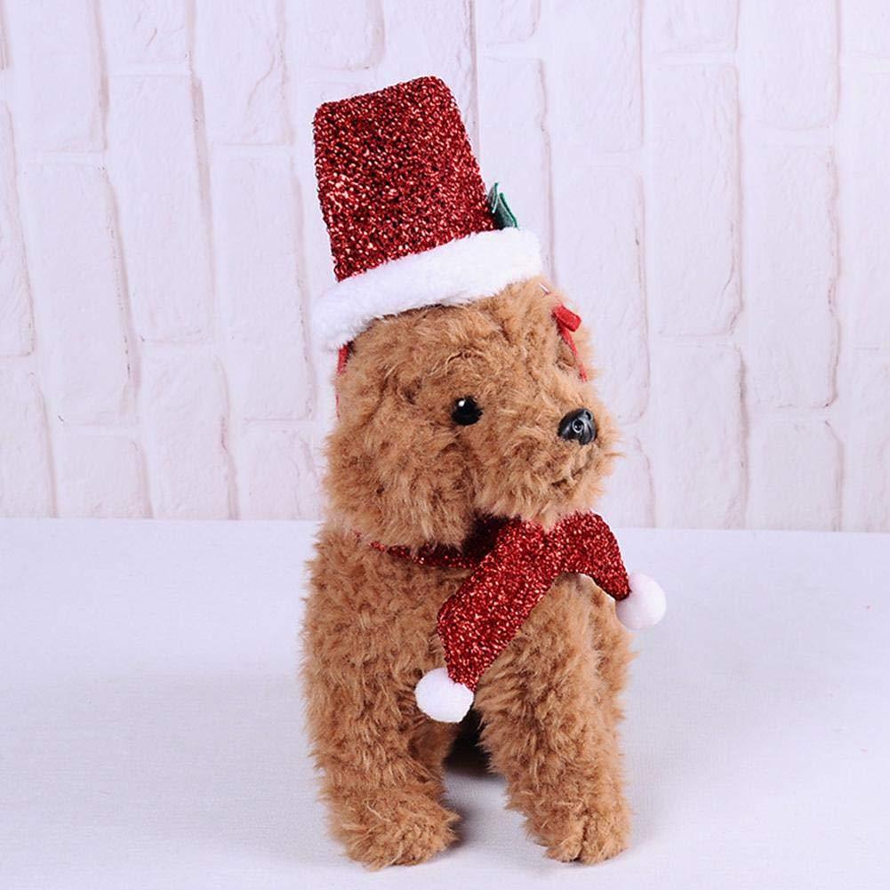 Clown//Gitarristen//Marienk/äfer-Kost/üm Hunde Party super verr/ückte Kleidung lustiges Outfit Halloween Weihnachten Katzen Cosplay Lamptti Haustier-Kost/üm