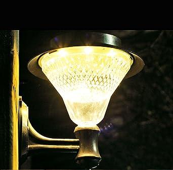 Lámpara LED solar lámpara solar jardín lámpara Ahorra energía ...