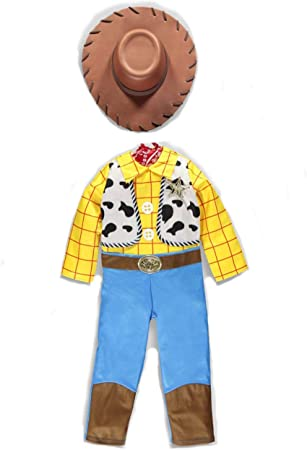 U.T Official Disney Toy Story Woody fancy dress Age 4 5