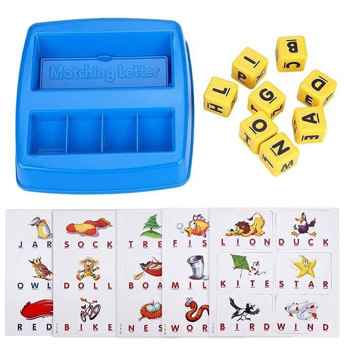 Amazon.com: Puzle de dibujo de alfabeto para niños con ...