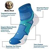 Athletic Running Socks,ZEAL WOOD Men Women