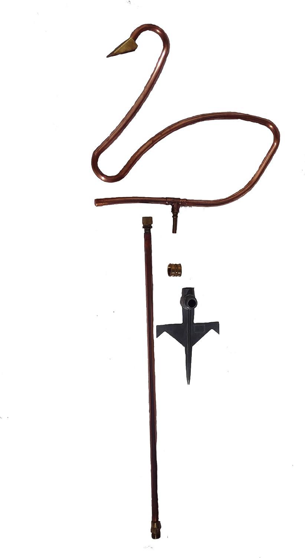 Bosmere L360 Artful Copper Shower Sprinkler, Swan