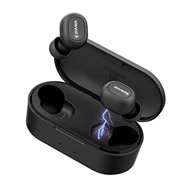 11a28a55d62 ZOVER Wireless Earbuds Bluetooth 5.0 Headphones TWS True Wireless Stereo  IPX7 Waterproof in-Ear Wireless