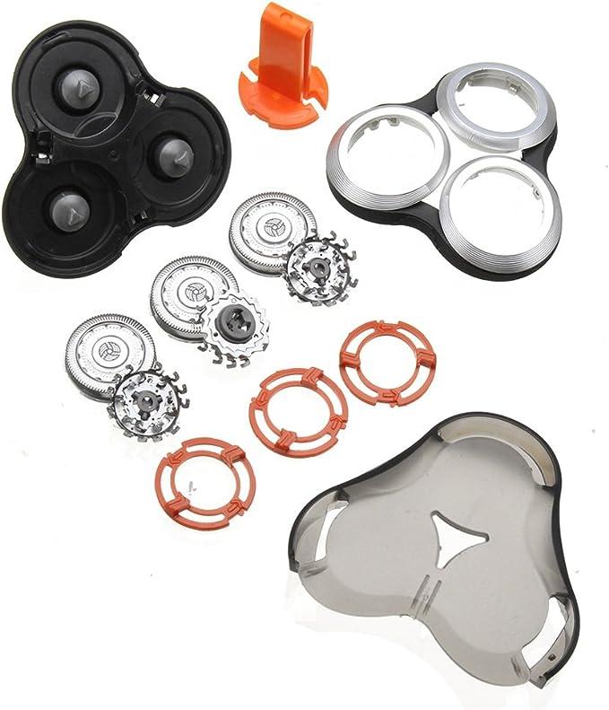 EgBert Cabezal De Repuesto De Afeitadora Para Philips Norelco Rq12 Sh90 S9000: Amazon.es: Belleza