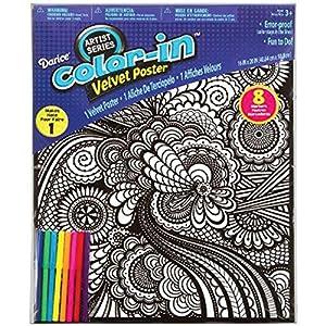 darice 106 5937 geometric velvet poster 16 by 20 inch - Velvet Coloring Book