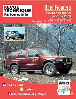 Tap N 369 Opel Frontera Essence/Diesel Jusqua 2003
