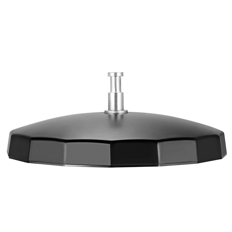 Pesa hasta 3 Kg Neewer Base de Luz para Anillo Ponderado para Luces de V/ídeo LED Luz de Anillo Fluorescente Espejo y Otros Accesorios de Fotograf/ía Rosado Hecha de Pl/ástico y Metal Duradero