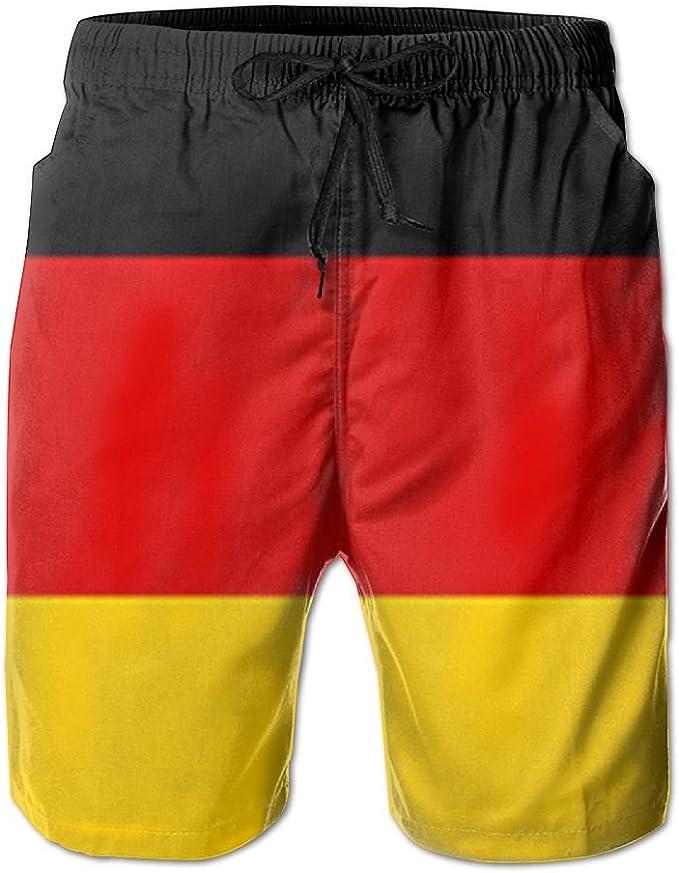 Germany Flag Womens Board Shorts Quick Dry Beach Swim Trunks