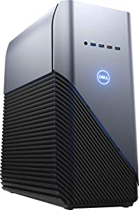 Dell Desktop - AMD Ryzen 5-Series - 8GB Memory - AMD Radeon RX 570-1TB Hard Drive - Recon Blue with Solid Panel