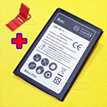 High Capacity 3300mAh Spare Replacement Battery for AT&T/Tracfone ZTE ZMAX 2 Z958 Phone With Additional Valueable Accessory (See Picture)
