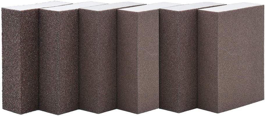 Cdrox 6pcs//set Drywall Polishing Sanding Sponge Block Rough Medium Fine Sandpaper Sander Tool