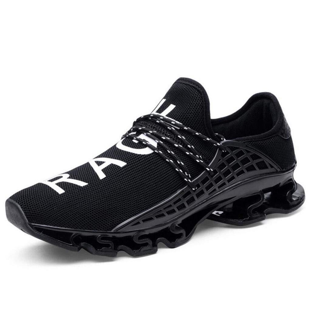 Zxcvb Männer Leichte Slip-on-Mesh-Turnschuhe im Freien Athletische Laufschuhe Casual Sportschuhe