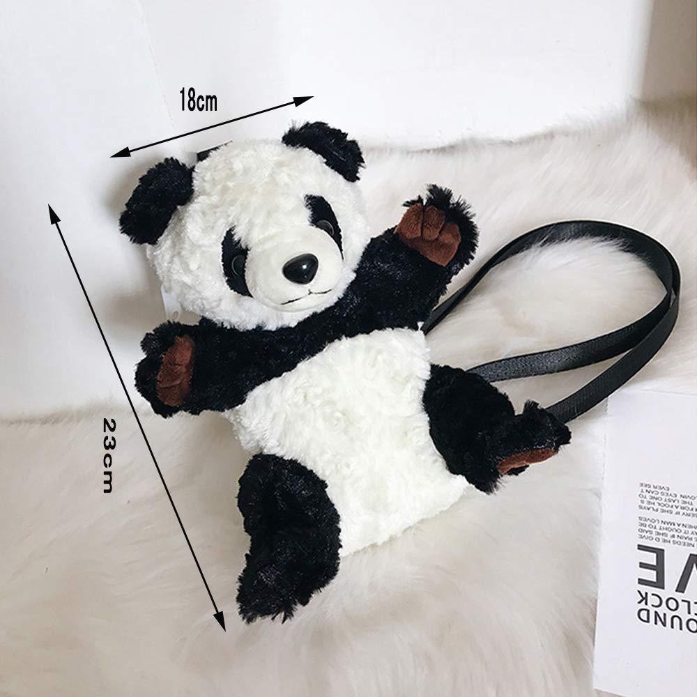 ABBC Wildleder Umhängetasche,Handgefertigt Großer Panda Modellierung,Tasche Crossbody,Schultergurt Crossbody,Schultergurt Crossbody,Schultergurt Einstellbar Abnehmbar,Stoff Waschbar Bag Tasche,Kinder Unisex Handtaschen,Persönlichkeit Einzigartig B07L3WHS15 Umhngetaschen Zuverlässiger  68003f