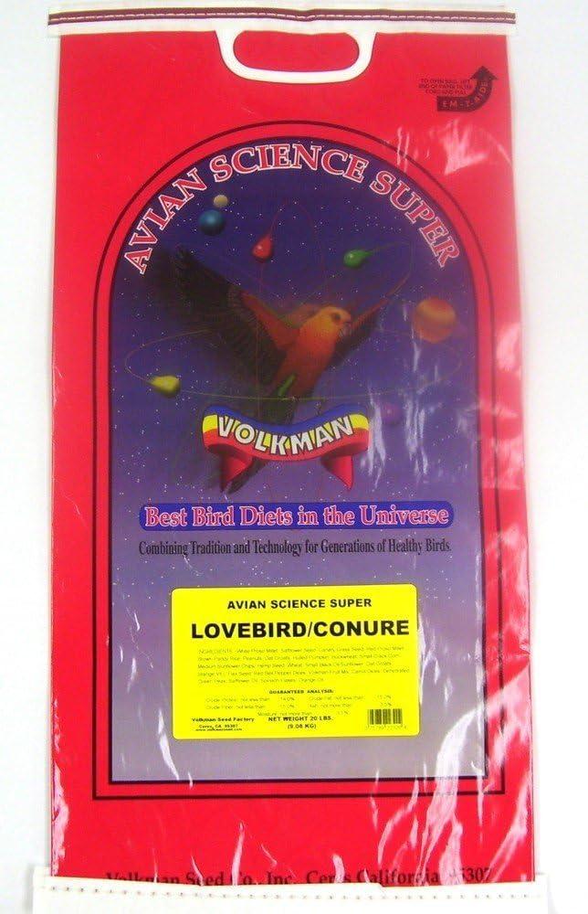 Volkman Seed Avian Science Super Lovebird/ Conure 20lb