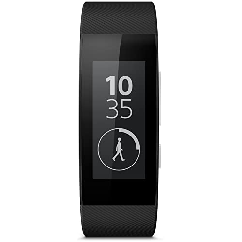 Sony SWR30 - SmartBand Talk (resistente al agua, 300 horas batería, WiFi), negro