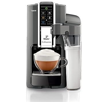 Tchibo Saeco Cafissimo Latte Kapselmaschine (für Kaffee, Espresso,Caffé  Crema,Latte Macchiato