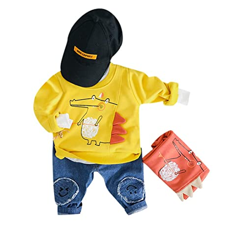 ced02340b2c2 Amazon.com  😊0-3 Years Boys Trousers Outfits Set