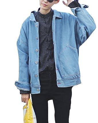 Manteaux Homme Denim Blouson Décontractée Classique Jacket Coats q68HwYq