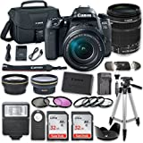 Canon EOS 77D DSLR Camera with Canon EF-S 18-135mm f/3.5-5.6 IS USM Lens + Kit