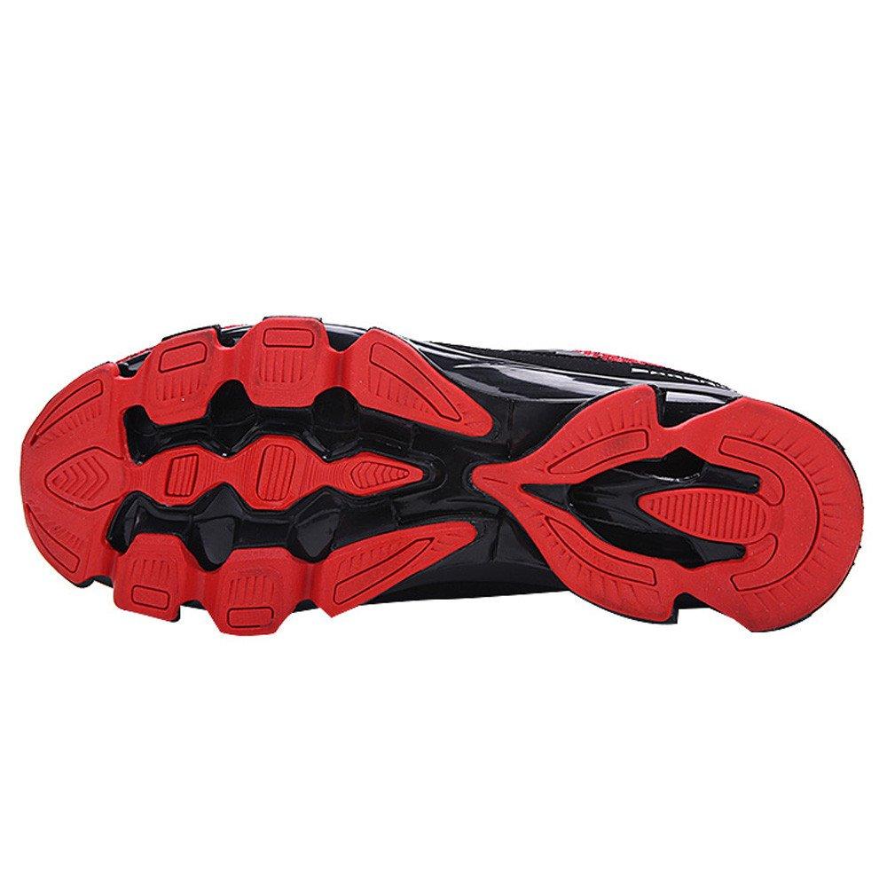 Scarpe Uomo Sportive ABCone Scarpe da Basket Uomo Scarpe da Ginnastica Basse Uomo Casual Mesh Traspiranti Lace-Up Running Stringate Scarpe Antinfortunistica Ragazzo Estive Leggere Sneakers