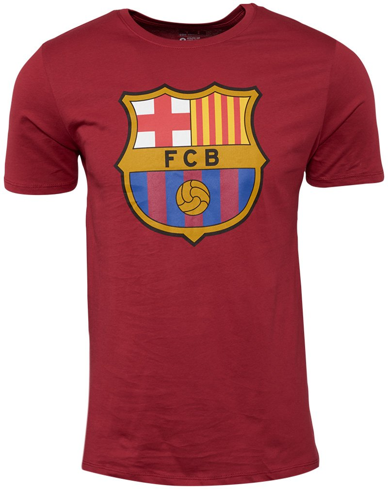 Nike 2015-2016 Barcelona Crest Tee (ROT)